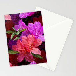 Beautiful hibiscus flowers Stationery Cards
