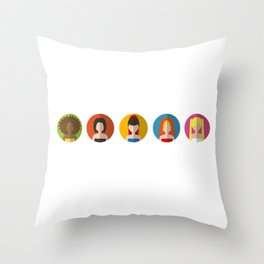 SPICE GIRLS ICONS Throw Pillow