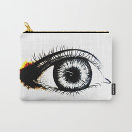 Looking In #1 - Original sketch to digital art Carry-All Pouch