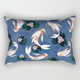 Japanese carps Rectangular Pillow