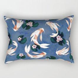 Japanese carps Rectangular Pillow