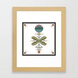 Kurbits Flower Framed Art Print