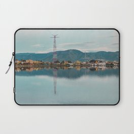 Lake before the storm Laptop Sleeve