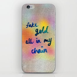 good as gold iPhone Skin