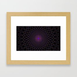 MandalaCR7 Framed Art Print