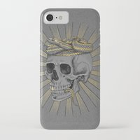 stay gold iPhone & iPod Cases featuring stay gold by Laura Graves