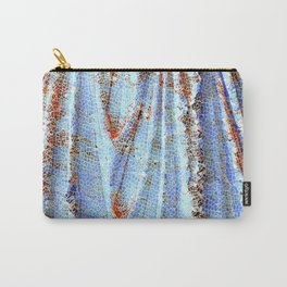 Caryatid in Blue Carry-All Pouch