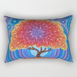 Autumn Blossoms Rectangular Pillow