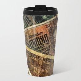 Old German money Altes Deutsches Geld Travel Mug