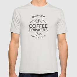 Outdoor Coffee Drinkers Club T-shirt