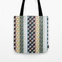 boho Tote Bags featuring Boho by Designed by Debby