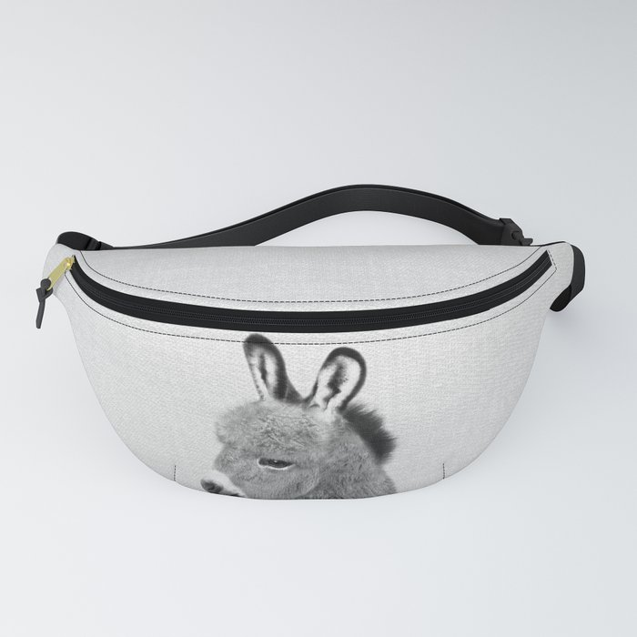 Donkey - Black & White Fanny Pack