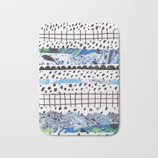 Abstract shapes Bath Mat