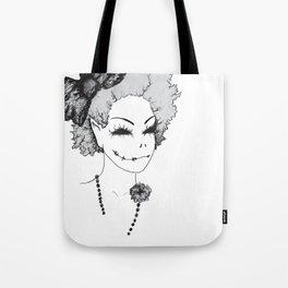 Evil Pose Tote Bag