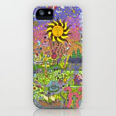 PSYCHEDELIC SUNSET iPhone (5, 5s) Slim Case