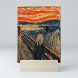 The Scream by Edvard Munch Mini Art Print
