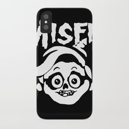 We're A Couple Of Misfit 1 iPhone Case