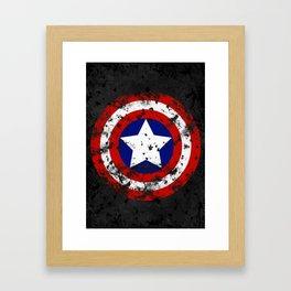 Captain's Shield Framed Art Print