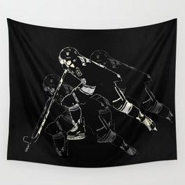 Hockey Mania Wall Tapestry