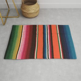 BEAUTIFUL MEXICAN SERAPE Rug