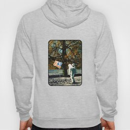 the first man under a tree Hoody