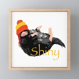 Shiny Framed Mini Art Print