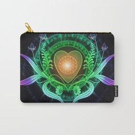 Plantain Heart by Emma Parrish Carry-All Pouch