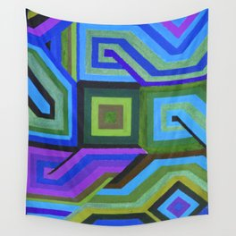 Love and Logic Colour Variation Wall Tapestry