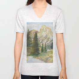 Path to the Mountains Unisex V-Neck