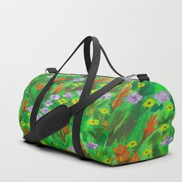 Flowers in spring Duffle Bag