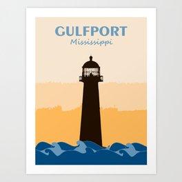 Gulf Shores - Alabama. Art Print