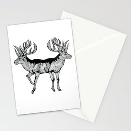 Magic Deer Stationery Cards