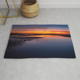 Seascape Sunset Rug