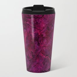 Purple Heavy Metal Travel Mug