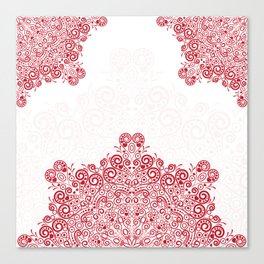 Mandala background Canvas Print