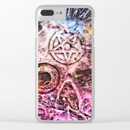 Satanic Clear iPhone Case