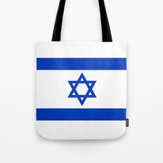 National flag of Israel Tote Bag