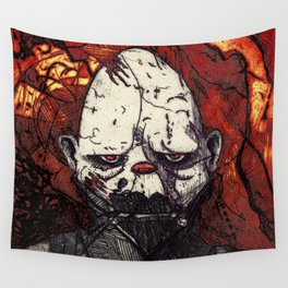 Father Figure Wall Tapestry