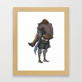 Smol & Strong Framed Art Print