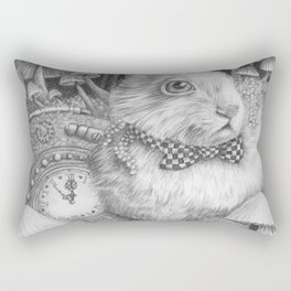 Always Late to the Party Rectangular Pillow