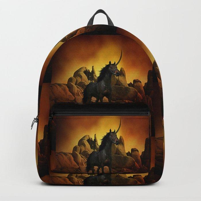 The Dark Unicorn Backpack