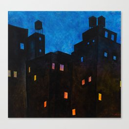 Rooftop Views from the Upper West SIde Canvas Print