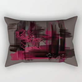 """Abstract Porstroke"" Rectangular Pillow"