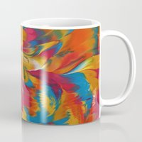 psychedelic Mugs featuring Psychedelic by DuckyB
