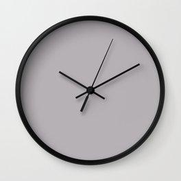 Gum Art ~ Light Blue-gray Wall Clock
