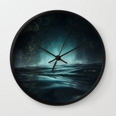 Surreal Sea Wall Clock