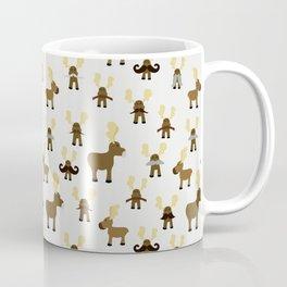 Moosestaches Coffee Mug