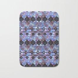 Aztec galaxy pattern. Bath Mat