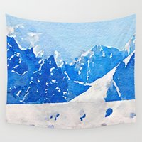 alaska Wall Tapestries featuring Alaska by Acacia Alaska