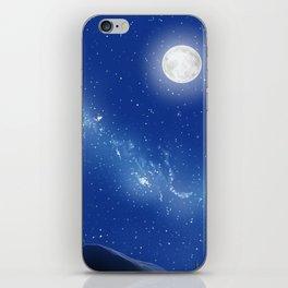 Eeyore-A Lonely Night iPhone Skin